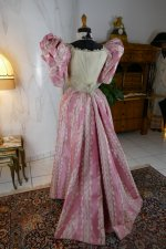 27 antique ball gown 1895