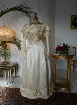2 antique ball gown 1892