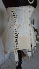 9 antique maternity corset 1910