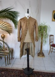 antique formal coat 1790