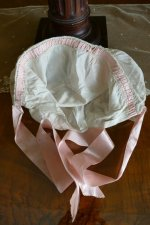 12 antique boudoir bonnet 1910