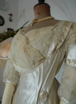 4 antique edwardian wedding dress 1909
