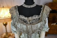 1 antique evening gown 1889