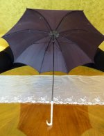 2 antique parasol