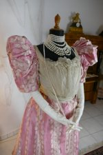 13 antique ball gown 1895