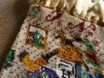 15 antique beaded Purse 1825