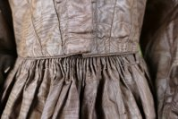 39a antique afternoon dress 1840