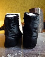 16 antique romantic period boots 1930