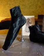 27 antique romantic period boots 1930