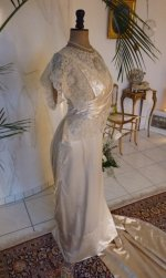 2 antique wedding dress