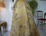 28 antique ball gown 1889