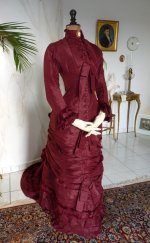 16 antique wedding gown 1878