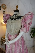 12 antique ball gown 1895
