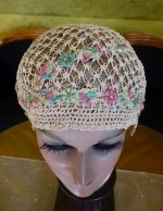 4 antique boudoir cap