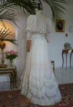 39 antique afternoon gown