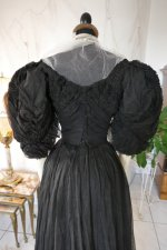 21 antique evening gown 1896