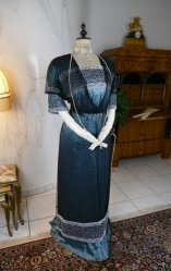 antique society dress Kayser 1908