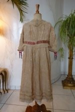 13 antique girls dress 1905