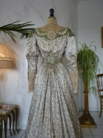 29 antique recpetion gown 1904