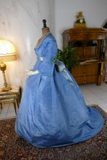 7 antique ball gown 1864