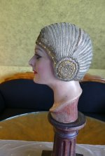 8 antique cloche 1924