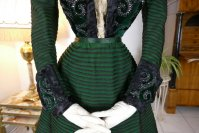 6 antique reception gown 1896