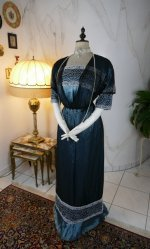 2 antique society dress Kayser 1908