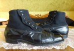 7 antique mens high button shoes