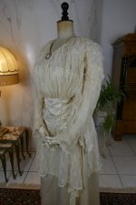 10 antique wedding dress Barcelona 1908