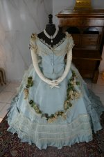 2 antique victorian ball gown 1859