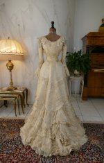 25 antique society dress 1901
