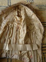 107 antique Ball gown 1880