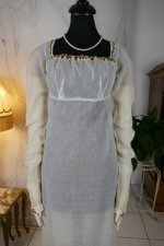3 antique empire dress 1802