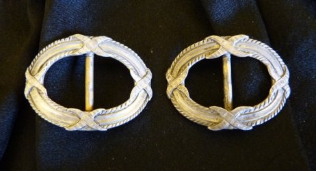 antique shoe buckles 1900