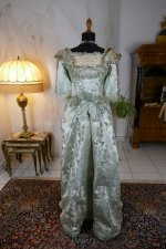 24 antique evening gown 1889