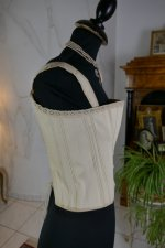 12 antique teenager corset 1905