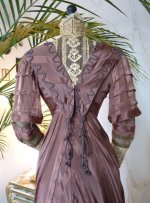 35 antique art nouveau dress