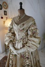 5 antique court dress 1838