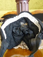 20 antique mourning bonnet