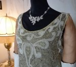 1 antique flapper dress 1925