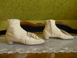 5 antique wedding shoes 1830