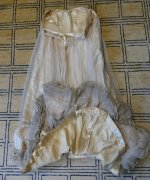 33 antique ball gown 1900