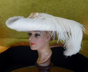 antique hat 1909