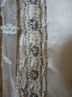 13a antique wedding dress 1920