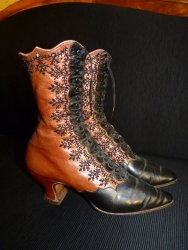 antique shoes, victorian shoes, shoes 1900, shoes 1895, antique dress, 1900