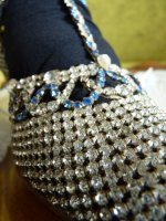 13 antique rhinestone shoes 1920