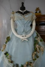 9 antique victorian ball gown 1859