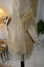 36 antique silk jacket 1895
