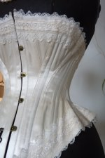 9 antique wedding corset 1880