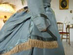 12 antique reception gown 1865
